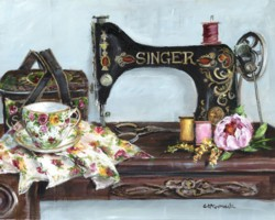 Singer - Available as prints and gift cards