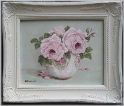 Original Painting - Smiling Roses - Postage is included in the price Australia Wide