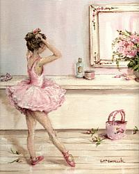 Sweet Ballerina -  Available as Prints and Gift Cards