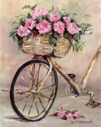Vintage French Bike -  Available as Prints and Gift Cards
