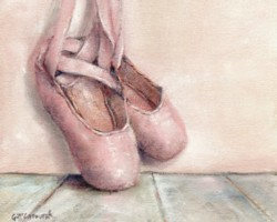 Vintage Pointe Shoes - Available as Prints and Gift Cards