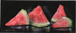 Ready to hang Print - Watermelon - FREE POSTAGE Australia wide