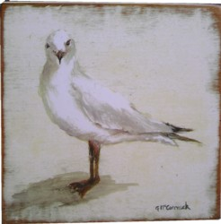 Ready to Hang Print - Seagull  - POSTAGE included Australia wide