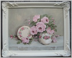 """Original Painting - """"Jug and Plate"""" - Postage is included Australia wide"""