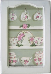 Original Painting - Rosy China in a Cupboard - FREE POSTAGE Australia wide