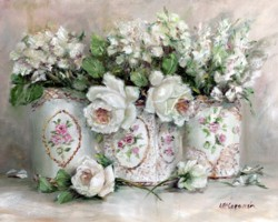 Whites in Vintage Tin Trio - Postage is included Australia Wide