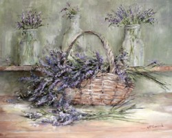 Lavenders - Available as prints and gift cards
