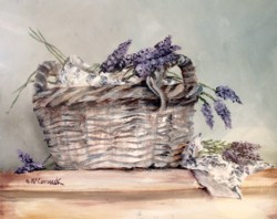 Lavender Laundry - Available as prints and gift cards